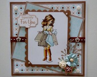 Handmade Card 'Especially For You'