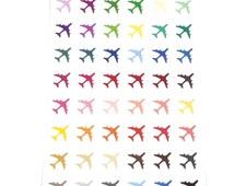 Airplane Travel Stickers [IC-123]