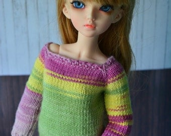 sweater for minifee MSD 1/4 bjd dolls