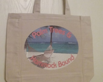 Earth Friendly Canvas Tote