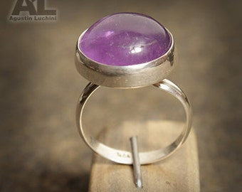 Silver Amethyst  Ring  -  Anillode plata con Amatista