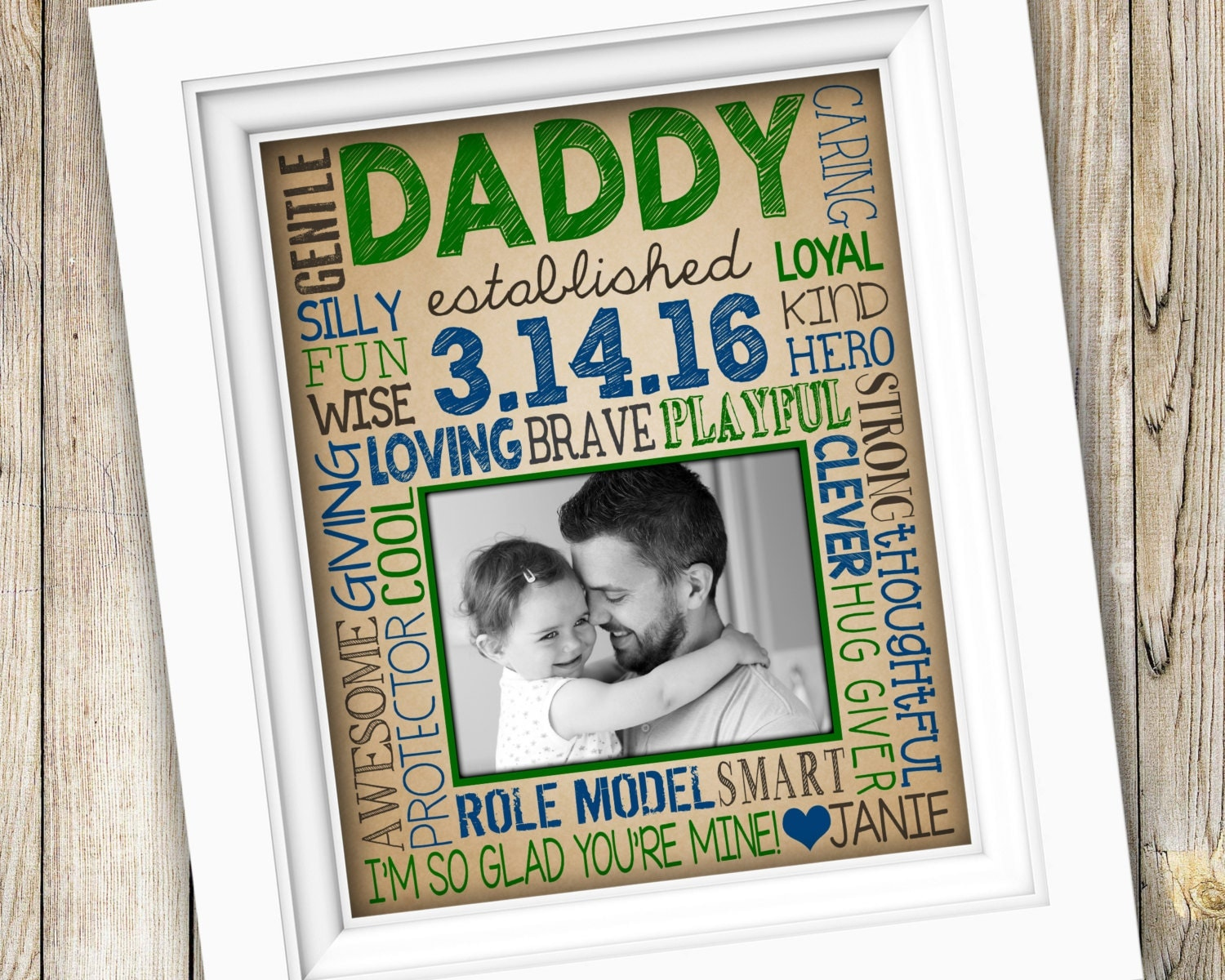 First Time Dad Gift New Dad Gift for Daddy First