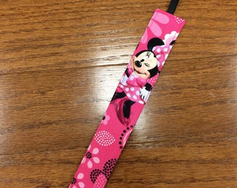 Minnie Pacifier Clip