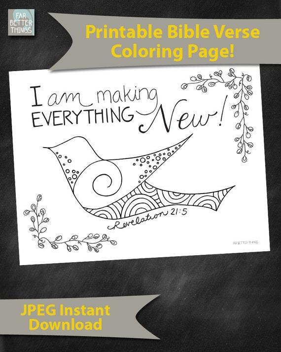 Bible Verse Coloring Page Revelation 215 By