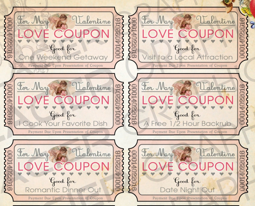 homemade love coupons for her