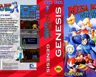 Mega Man Wily Wars (Genesis Repro)