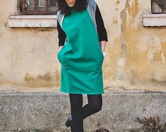 Green tunic | Etsy