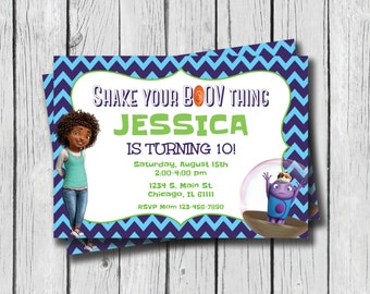Home Birthday Invitation - Customized - Printable - Digital Download