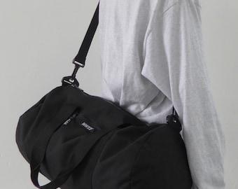 Weekend Barrel Bag Black