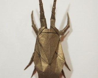 Origami coleoptere