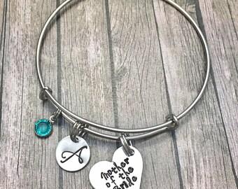 Mother of the Bride - Mother of bride - Wedding - Bracelet - Mother of bride gift - Charm bracelet - Mother bracelet -
