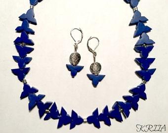 Royal Blue Jewelry Set