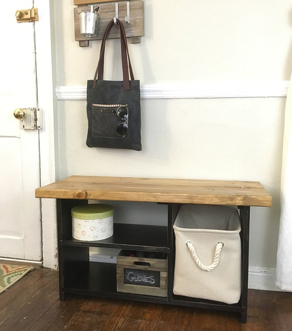 ... Entryway Shelves, Rustic Bench, Doorway Bench, Entry Bench, Wood Bench