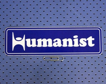 Humanist Bumper Sticker