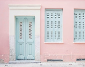 Perfectly Pastel Picture of Athens Greece