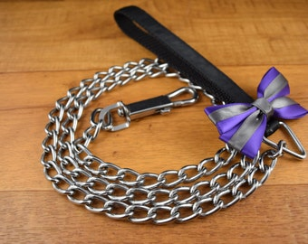 Create your own chain leash