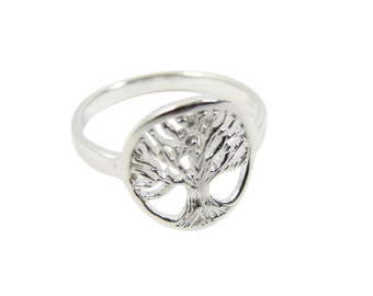 Tree of Life Ring. Tree of Life 925 Sterling Silver Ring. SALE