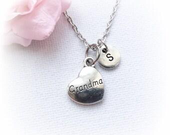Grandma Necklace, Grandma Jewellery, Grandma Charm Jewelry, Grandma gift, handmade necklaces, Grandma gift, gift for nanna, SPMCINGRM1