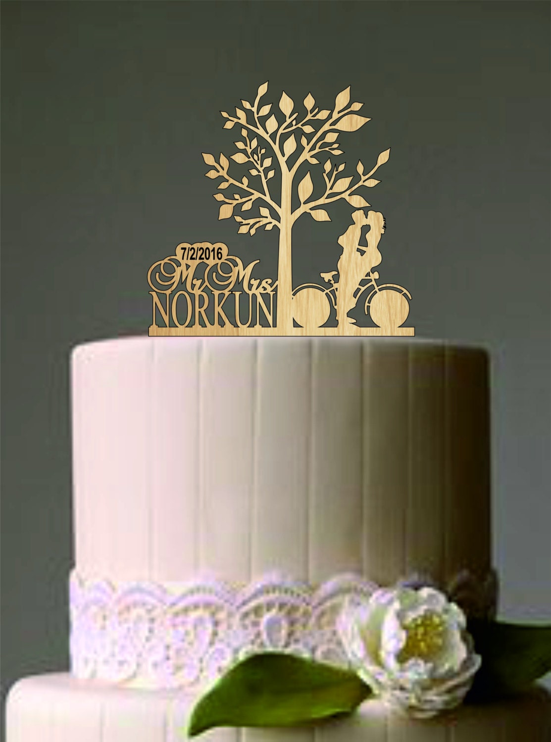 personalised wooden wedding cake toppers uk custom wedding cake topper personalized wedding cake topper 18259