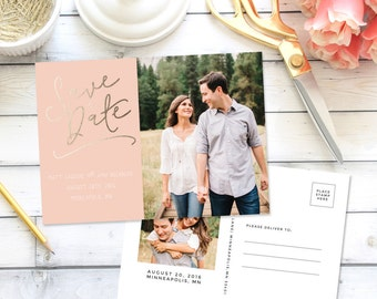 Save the Date Postcard #3 Announcement | Printable