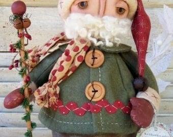 Dear Santa Doll Pattern by Annie Smith Designs