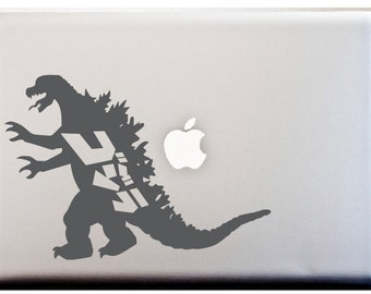 Godzilla Decal Etsy - Overnight decals from japan