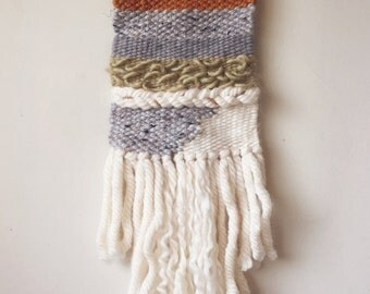 WILD THANG // handmade woven wall hanging weaving