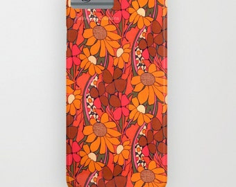 Phone Case 18 Styles Available! Groovy Flowers - iPhone, iPod, & Samsung Galaxy!