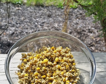Whole Organic German Chamomile Flowers