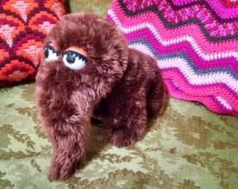 Sesame Street SNUFFLEUPAGUS Vintage Plush stuffed toy Muppets, applause