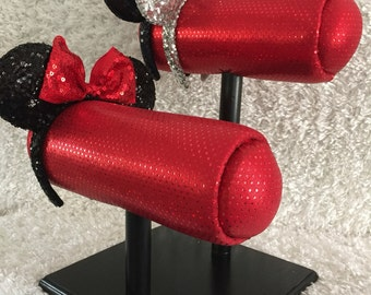 Red Glitter- Different Base Colors Available