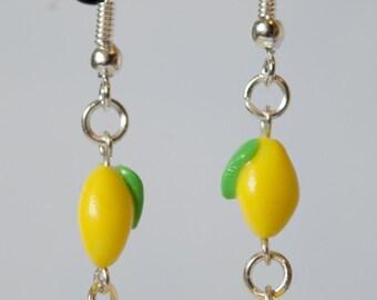 Lemony Drop Earrings