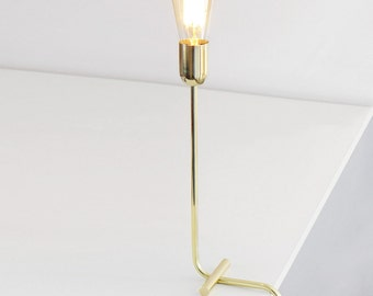 Solid brass Modern table lamp, desk light, Balance Lamp