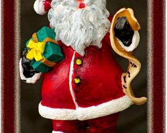 "Season Greeting Santa Clause Fridge Magnet 3.25""x2.25"" Collectibles (PMD11010)"