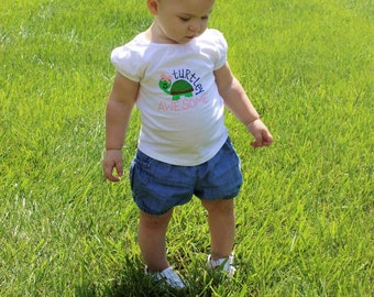 Turtley Awesome Onesie OR t shirt