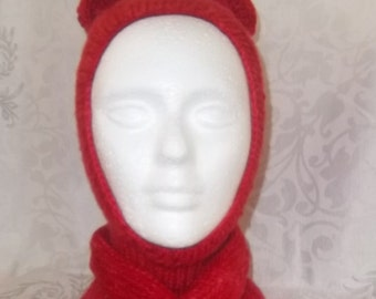 Hood and scarf for child