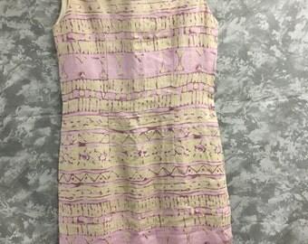 Sergio Donati 1960's Linen Dress