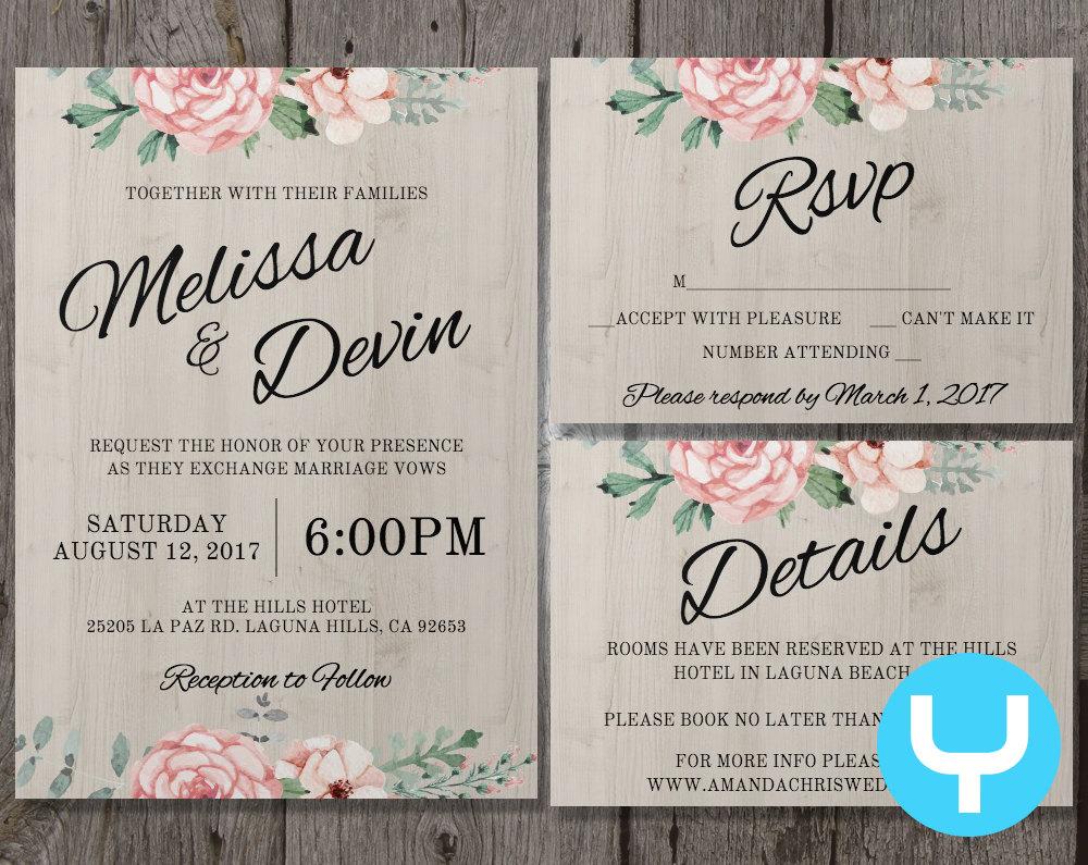 wedding invitations details - 28 images - wedding invitation details ...