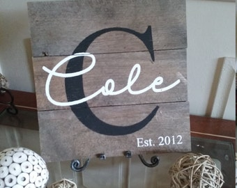 First or Last Name Display