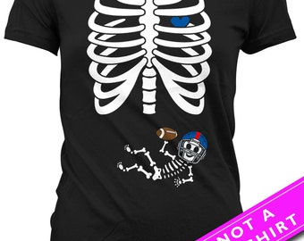 Pregnancy Halloween Shirt Baby Announcement New Baby T Shirt Skeleton Costume TShirt Pregnant Mom Gifts Mommy To Be Ladies Tee MAT-798