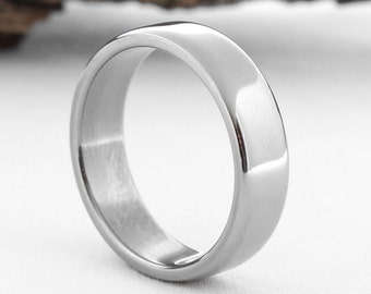 titanium ring titanium wedding band classic wedding band classic titanium ring mens