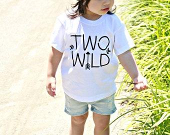 second birthday shirt, 2nd bday shirt, two wild, birthday tee, 2nd birthday outfit, birthday outfit, cute birthday shirt, turning two, bday