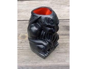Cthulhu Tiki Mug - black/red