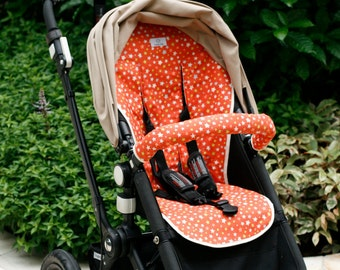 Custom fitted pram liner   Stroller liner   Fabric of choice   Custom fit for Bugaboo, MacLaren, Baby Jogger and more