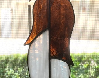 Stained Glass ,Feather, Suncatcher, Southwest