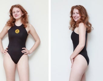 Turbo/One-Piece Bathing suit