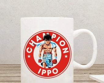 Hajime No Ippo Starbucks Anime Manga Ceramic 11oz mug