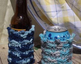 Beach Cozie: Ocean Waves