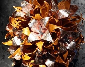 Origami Kusudama Iris