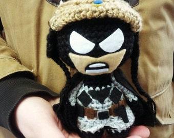 Toy Batman Red Son DC Comics, superheroes, actionfigure ,amigurumi,toy ,souvenir,handmake,handmade